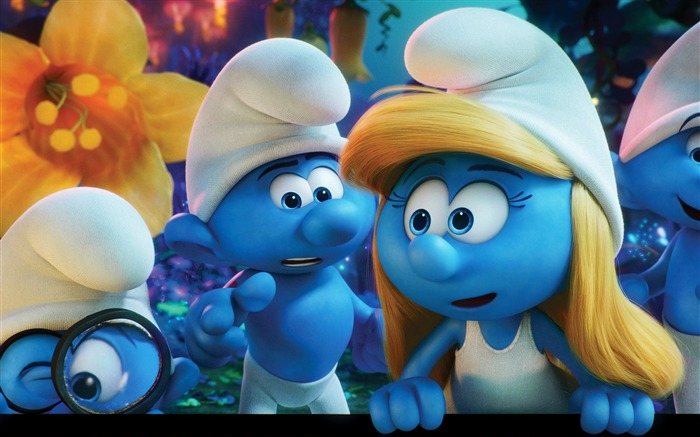 Smurfs The Lost Village 2017 Movie HD Wallpaper 02 Views:1927