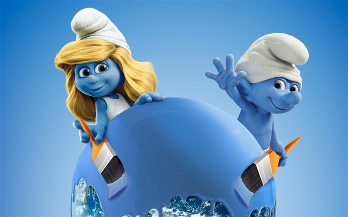 Smurfs The Lost Village 2017 Movie HD Wallpaper 03 Views:1913