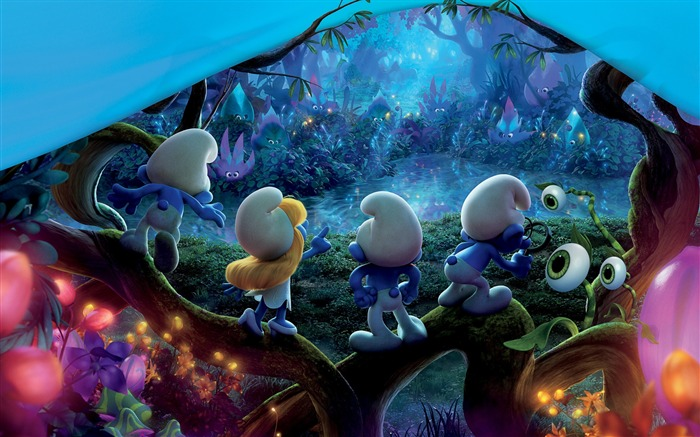 Smurfs The Lost Village 2017 Movie HD Wallpaper 04 Views:1865
