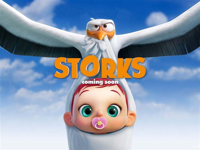 Storks-2016 Movie Poster Wallpapers Views:1423
