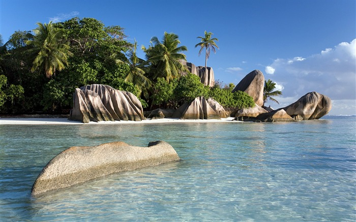 Sunny shores seychelles-2016 Windows 10 Desktop Wallpaper Views:3659