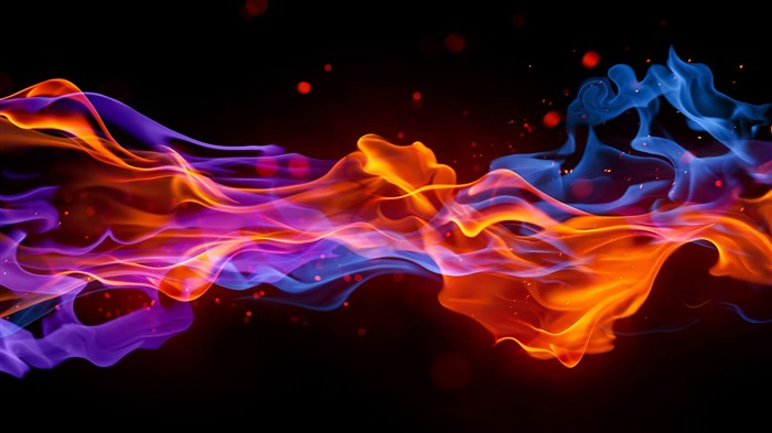 Vector Abstraction fire-2016 High Quality HD Wallpaper Views:1166