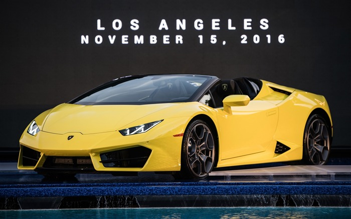 2017 Lamborghini Huracan RWD Spyder HD Wallpaper Views:1637