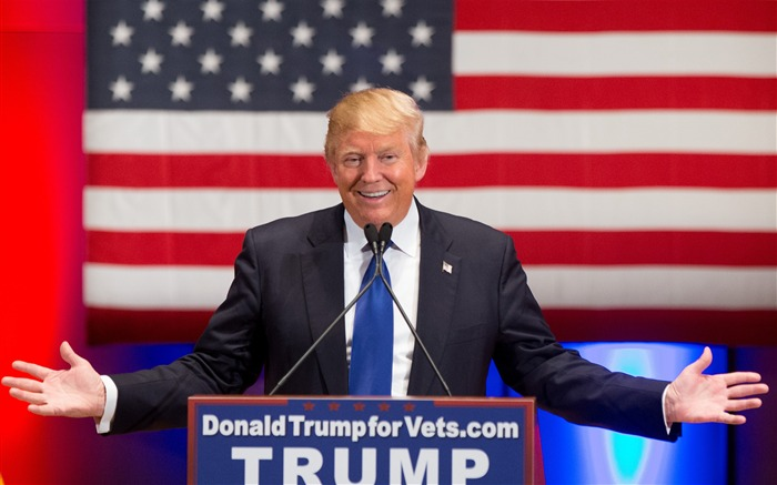 Donald Trump The 45th President Of The United States Wallpaper Views:21424