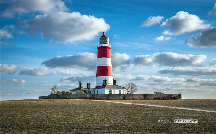 Happisburgh lighthouse-England travel scenery wallpaper Views:1642