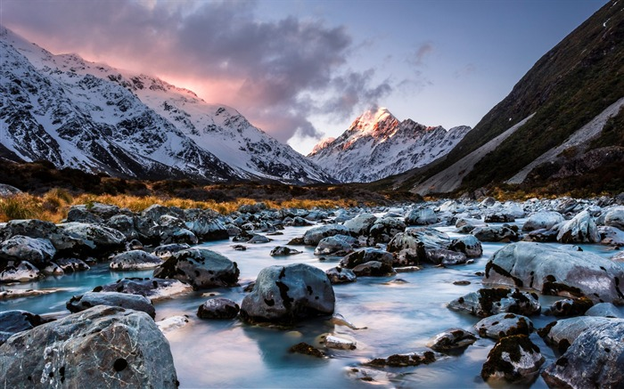 New Zealand South Island Travel Scenery Wallpaper 02 Views:1440