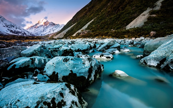 New Zealand South Island Travel Scenery Wallpaper 03 Views:1584