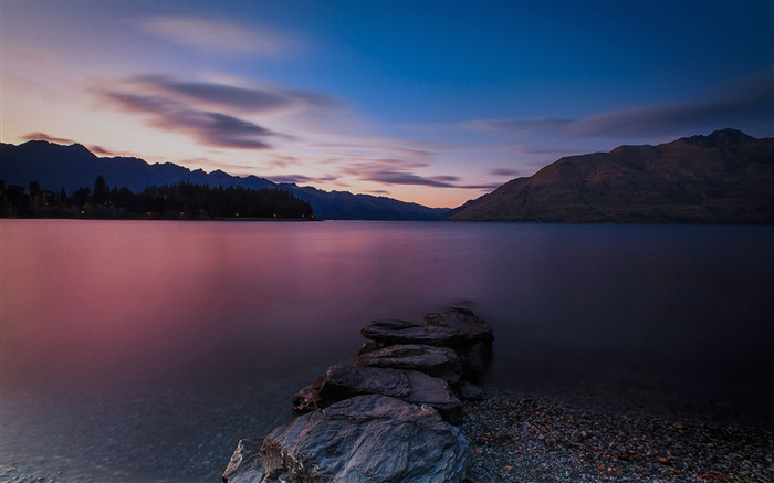 New Zealand South Island Travel Scenery Wallpaper 05 Views:1686