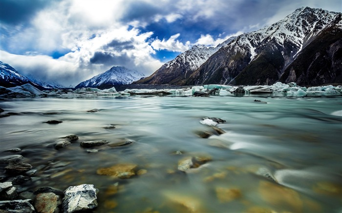 New Zealand South Island Travel Scenery Wallpaper 08 Views:1598