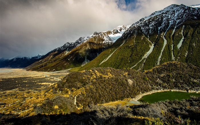 New Zealand South Island Travel Scenery Wallpaper 15 Views:1518