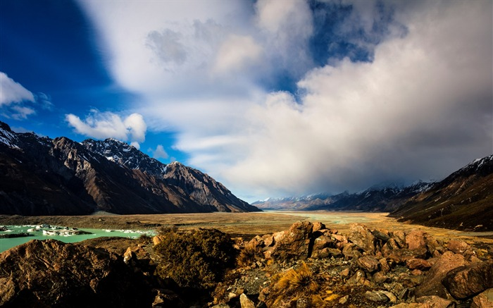 New Zealand South Island Travel Scenery Wallpaper 16 Views:917