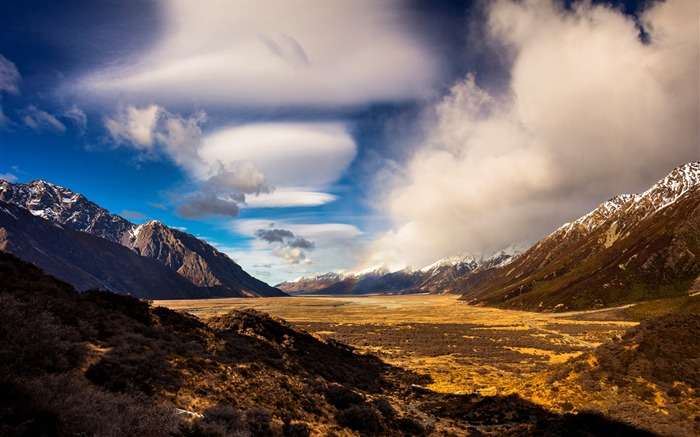 New Zealand South Island Travel Scenery Wallpaper 17 Views:1011