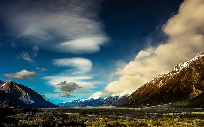 New Zealand South Island Travel Scenery Wallpaper 18 Views:1082