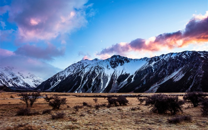 New Zealand South Island Travel Scenery Wallpaper 19 Views:777