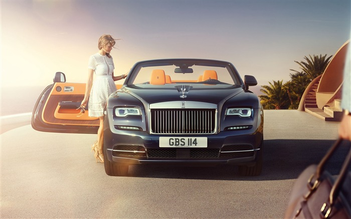Rolls royce dawn 2017-2016 High Quality Wallpaper Views:7767