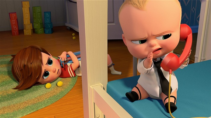 The Boss Baby 2017 Animation Film Wallpaper 01 Views:1761