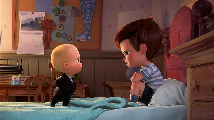 The Boss Baby 2017 Animation Film Wallpaper 03 Views:2468
