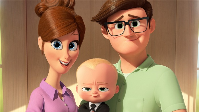 The Boss Baby 2017 Animation Film Wallpaper Views:4193