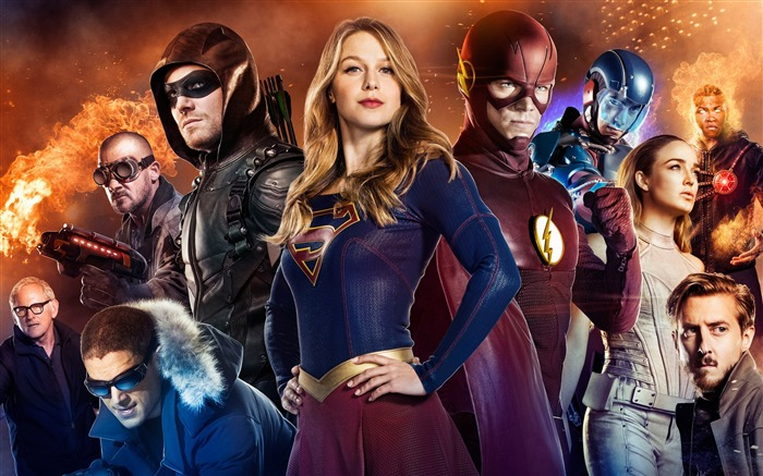 Arrow supergirl flash legends of tomorrow-2016 Movie Posters Wallpaper Views:1836