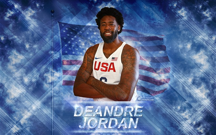 DeAndre Jordan-2016 Basketball Star Poster Wallpaper Views:1784