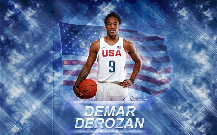 DeMar DeRozan-2016 Basketball Star Poster Wallpaper Views:2138