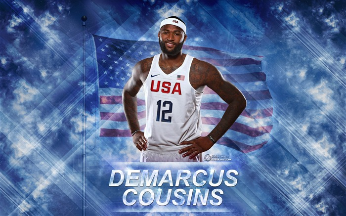 DeMarcus Cousins-2016 Basketball Star Poster Wallpaper Views:1536