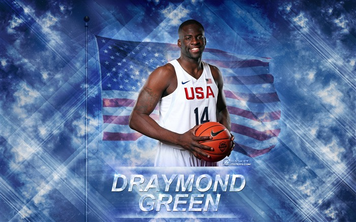 Draymond Green-2016 Basketball Star Poster Wallpaper Views:1777
