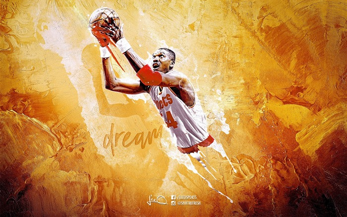 Hakeem-2016 Basketball Star Poster Wallpaper Views:1547