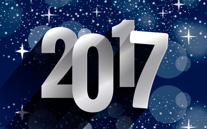 Happy New Year 2017 HD Theme Desktop Wallpaper Views:6101