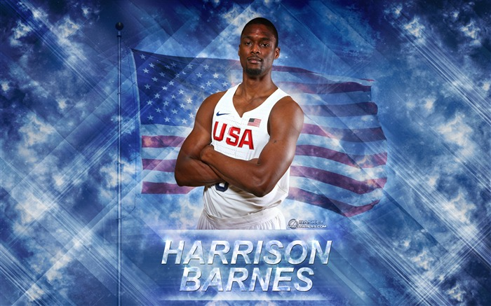 Harrison Barnes-2016 Basketball Star Poster Wallpaper Views:1750