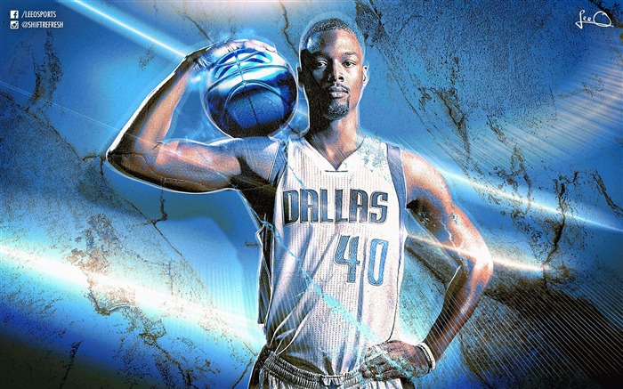 Harrison Barnes Dallas Mavericks-2016 Basketball Star Poster Wallpaper Views:1090