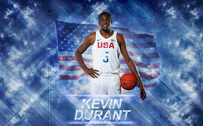 Kevin Durant-2016 Basketball Star Poster Wallpaper Views:1716