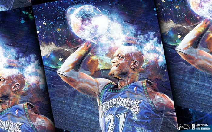 Kevin Garnett-2016 Basketball Star Poster Wallpaper Views:1865