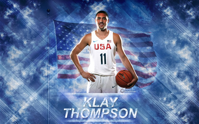 Klay Thompson-2016 Basketball Star Poster Wallpaper Views:1657