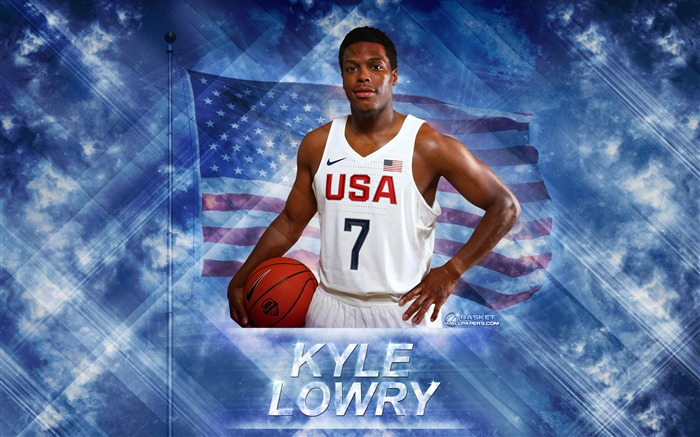 Kyle Lowry-2016 Basketball Star Poster Wallpaper Views:2368
