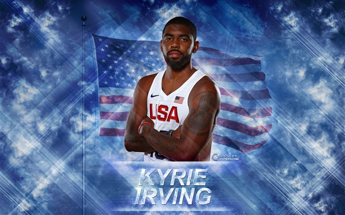 Kyrie Irving-2016 Basketball Star Poster Wallpaper Views:2449