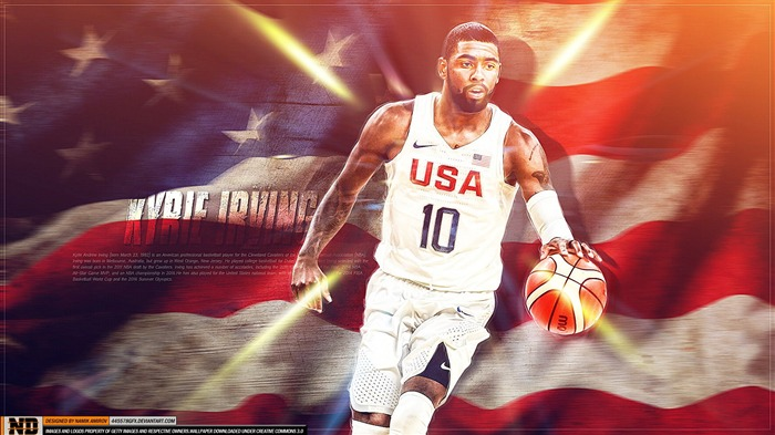 Kyrie Irving-2016 Basketball Star Poster Wallpapers Views:734
