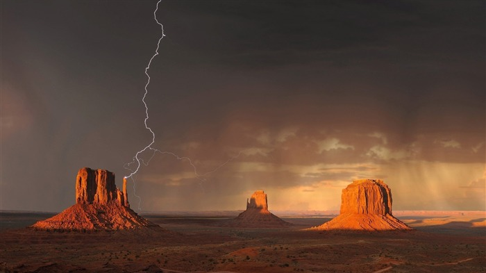 Monument valley-Nature High Quality HD Wallpaper Views:1625
