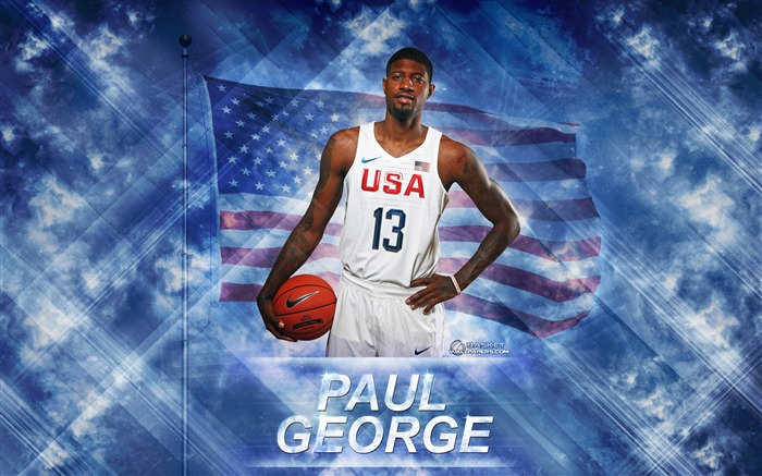 Paul George-2016 Basketball Star Poster Wallpapers Views:1378