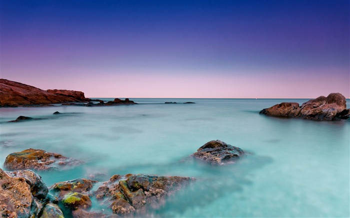 Reeves water azure horizon-Nature High Quality HD Wallpaper Views:1939