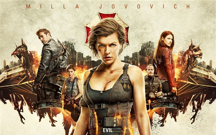 Resident evil the final chapter 2017-2016 Movie Posters Wallpaper Views:1612