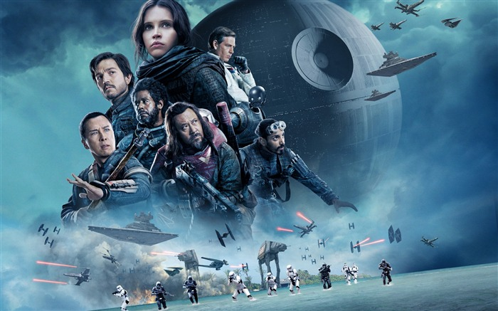 Rogue one a star wars story-2016 Movie Posters HD Wallpaper Views:1970