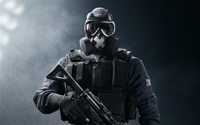 Sas mute-Rainbow Six Siege Game Wallpaper Views:2100