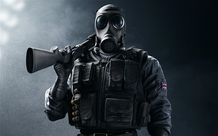 Sas smoke-Rainbow Six Siege Game Wallpaper Views:3467