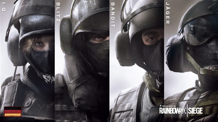 Tom Clancys Rainbow Six Siege Game Desktop Wallpaper 02 Views:1358