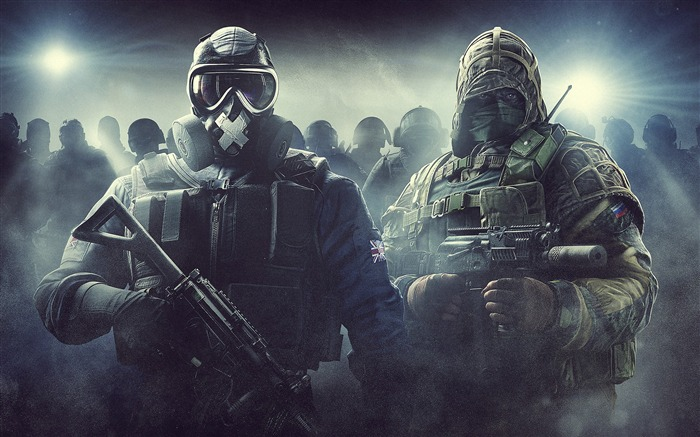 Tom Clancys Rainbow Six Siege Game Desktop Wallpaper Views:1563