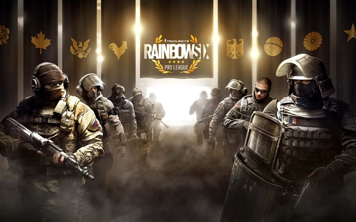 Tom Clancys Rainbow Six Siege Game Wallpaper 02 Views:1939