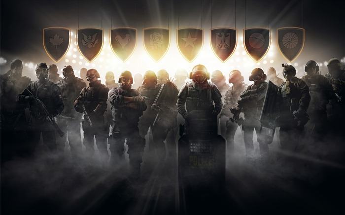 Tom Clancys Rainbow Six Siege Game Wallpaper 08 Views:1168
