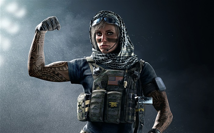 Valkyrie-Rainbow Six Siege Game Wallpaper Views:4441