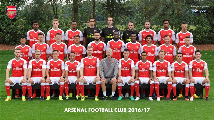 2016-2017 Arsenal Football Club Wallpaper Views:11389